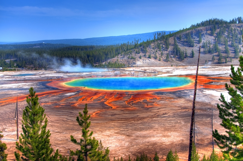 Yellowstone is home to geothermal wonders!