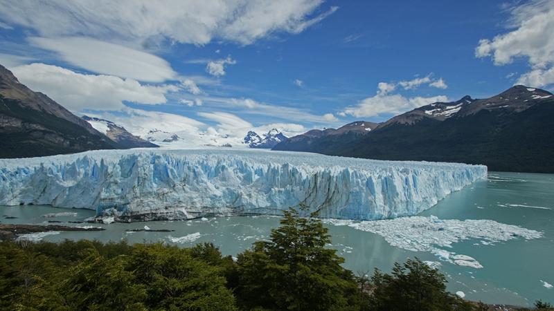 Perito Moreno glacier continues to grow.