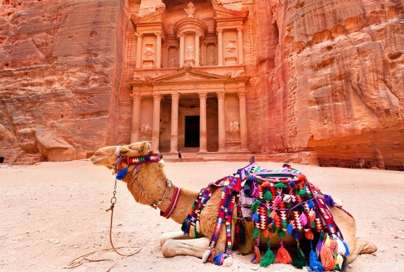 Petra was 'lost' until 1812.
