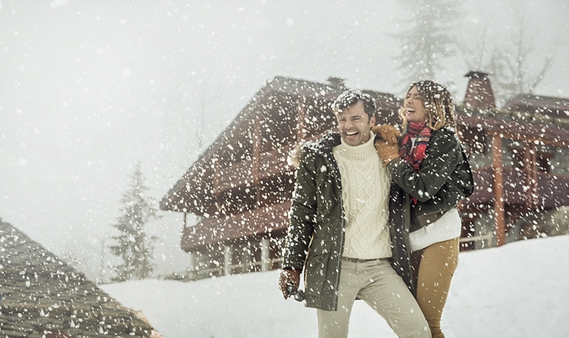 'Snow joke' when you land in a wintry wonderland with Club Med.