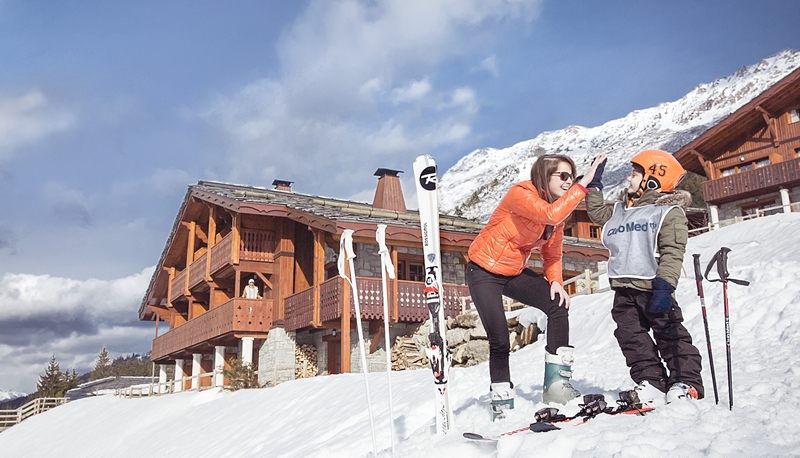 Carving up a storm on the slopes of Club Med is always winter warmer.