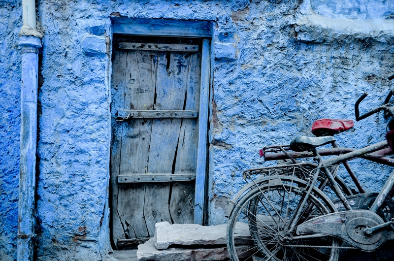 Visit the blue city of Jodhpur for fascinating history.